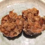 酒趣 - 納豆の唐揚げのアップ