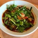 89186486 - トムヤム麺 regular(中華麺):1100円