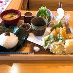 宗良庵 - 料理写真:天ぷら盛り合わせ和膳