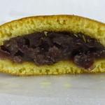 平治煎餅 - どら焼き(断面)
