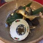 Kifunekiraku - アユの塩焼きが2匹付いてくるのがうれしかった