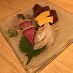 酒菜や いしもん - お造り3種盛り