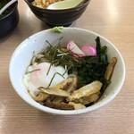 一番うどん - 料理写真:【ぶっかけうどん(460円)】今回はうどんにしましたが、おそばにもできますよ。