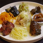 mushiyashinai - 前菜盛り合わせ