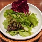 パパイヤリーフ東京 - セットのサラダ