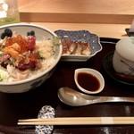 みわ久 - 海鮮丼 竹 1,380円税込み