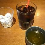 らくえ家 - ドリンク写真:アイスコーヒー