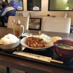 ダイニング薫 - 料理写真:日替わりソーストンカツ