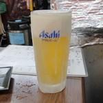 宮崎の地鶏 トロモモ - 生ビール