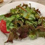 ピッツェリア イルソーレ 天サン - ランチのサラダ