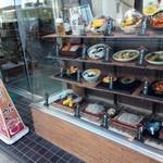 新宿増田屋 - ショーケース見ながら、こっそりワクワクしてる(ΦωΦ)フフ
