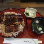 三代目魚梅 - うな丼(特丼5切)