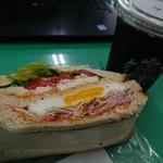 89199809 - 朝食サンドイッチ