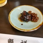 89199811 - 肝の山椒煮とカブトの佃煮