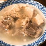 豚豚 - 塩角煮 490円