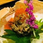 稲田屋 品川店 - 濃厚な蟹味噌がとても美味しい。
