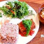 モーリンデッキ - 料理写真:玄米ごはんプレート