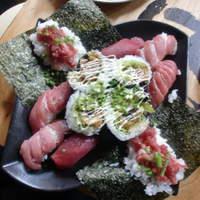 タカマル鮮魚店 - まぐろづくし1980円