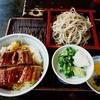三瀬そば - 料理写真:うな丼セット