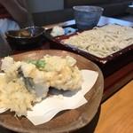 89201512 - 鱧の天ぷら  冷たいお蕎麦    1960円