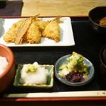 京ばし松輪 - アジフライ定食