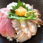 割烹 水天閣 - 海鮮丼