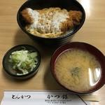かつ銀 - かつ丼('18/07/14)