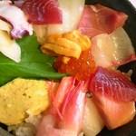 魚と創作料理 だん - 海の幸丼