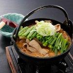 海鮮道楽 粋活 - 料理写真:粋活名物 もつ煮豆富