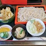 生蕎麦 海老家 - 料理写真:もり付天丼 850円