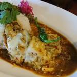 中華料理 八戒 - 骨付鶏(チーズ)カリィ