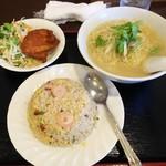 広東料理 彩華 - チャーハンセット 750円