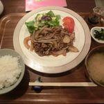 きっちん 菜の花 - 料理写真:焼肉定食 2018.03.28