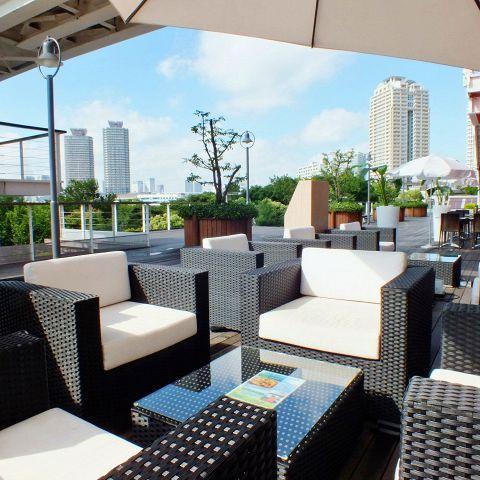 座席 : Trattoria&Pizzeria LOGIC お台場 (ロジック) - お台場海浜公園 ...