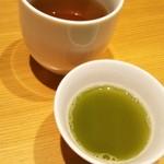 坐月 一葉 - お迎え 冷茶