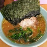 横浜ラーメン 武蔵家 - 料理写真:のりラーメン。¥700