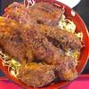 玉龍飯店 - 料理写真:ミックス丼1500円 ご飯大盛り+100円