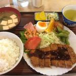 水舟 - トンカツ定食