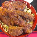 玉龍飯店 - ミックス丼1500円 ご飯大盛り+100円