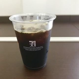 セブンイレブン さいたま南中野店 - セブンカフェのアイスコーヒー。 税込180円。 美味し。