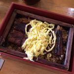 若松屋 - 柳川特盛きっぷの食事券で出されたせいろ蒸し