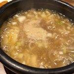 つけ麺亭 日向 - 柚子塩スープ