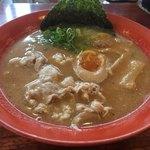 らー麺ZEN - コレが醤油ラーメンとは思えないでしょう( ^ω^ )