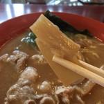 らー麺ZEN - 小ぶりなメンマ