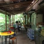 滝の茶屋 - テラス席