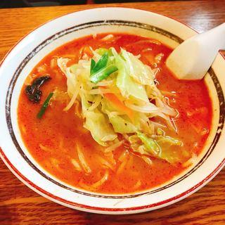 阿波家 - 料理写真:横浜タンメン・赤辛・味噌