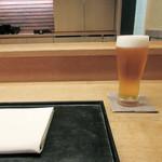 白 - ビールから('18.6月中旬夜)