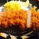 沖縄とんかつ食堂しまぶた屋 - ロースカツ