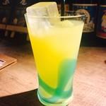沖縄とんかつ食堂しまぶた屋 - シークワサージュース