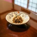 美榮 - ☆昆布の炒め物